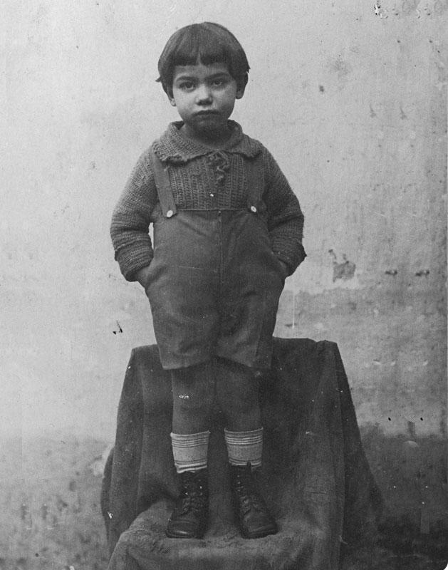 1925 - Mario a quattro anni