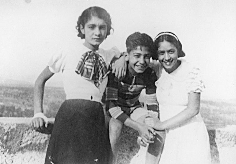 1932 - Elena, Mario e Ottavia
