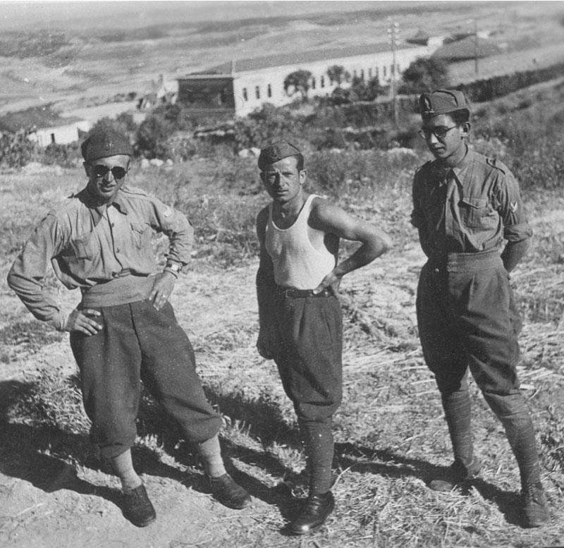 1942 - Mario durante la ferma militare