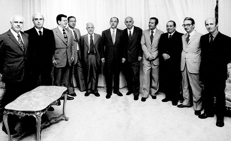 1973 - Cagliari Presentazione della Giunta di Giagu De Martini