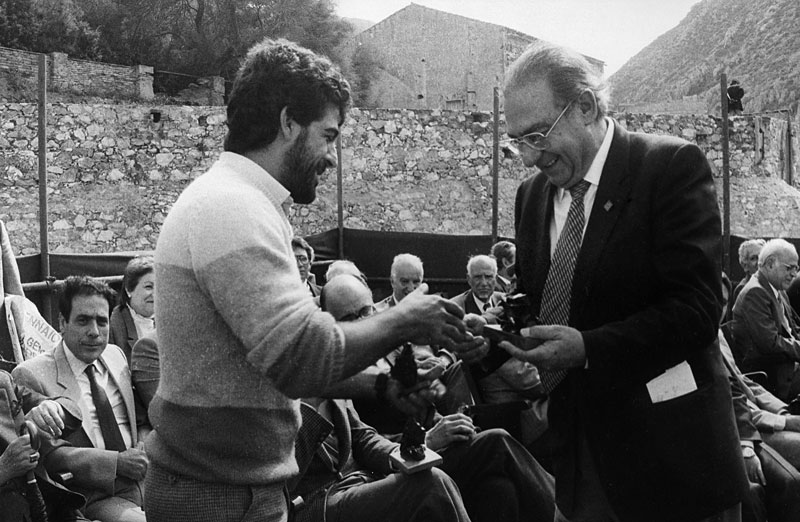 1984 - Buggerru, Commemorazione nell'Ottantesimo anno dall'eccidio di Buggerru