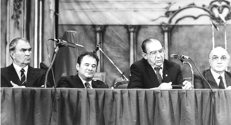 1985 - Dibattito durante il Premio Italia