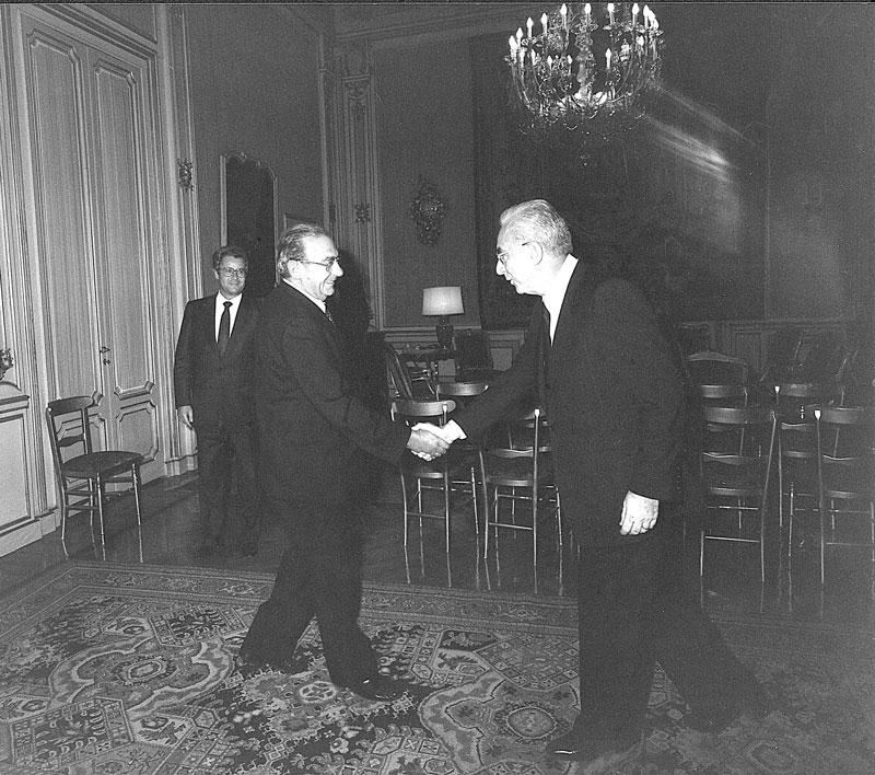 1985 - Roma, Visita al Presidente della Repubblica Francesco Cossiga