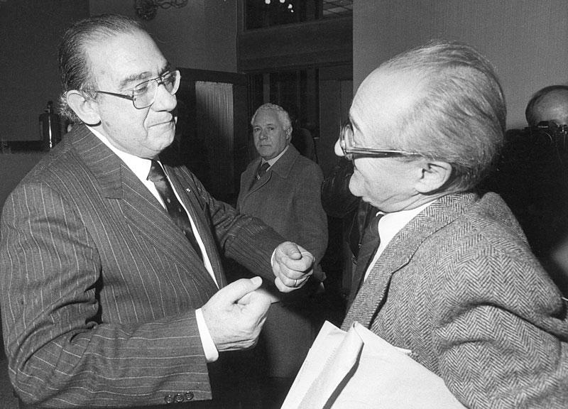 1987 - Incontro con Alessandro Natta, allora segretario del P.C.I.