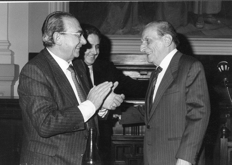 Cagliari, Incontro con il prof. Norberto Bobbio