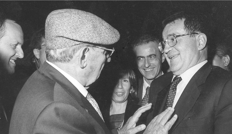 anni '90 - Conversazione con l'on. Romano Prodi