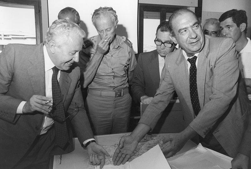 anni '80 - La visita del ministro Giuseppe Zamberletti in Sardegna