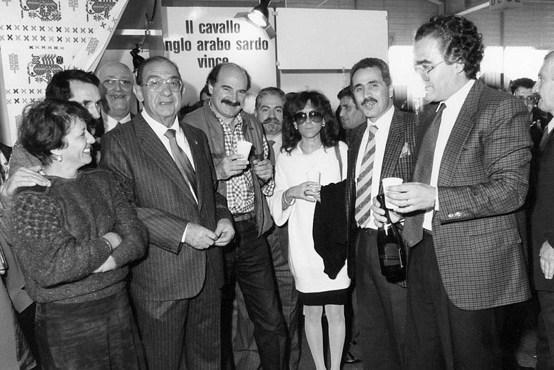 anni-'80 - Fiera del cavallo ango-arabo sardo
