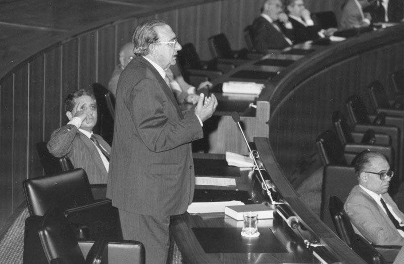 anni '90 - Cagliari Intervento in Consiglio regionale della Sardegna